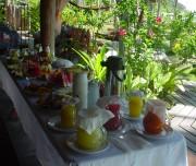 14 A - Café da Manhã na Pousada do Baiano, na Praia do Espelho